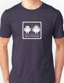Droid Restroom Unisex T-Shirt