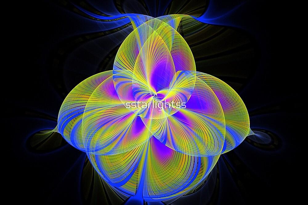 Splits Cylinder Flower by sstarlightss