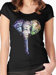 Elephantasm Women's Fitted Scoop T-Shirt