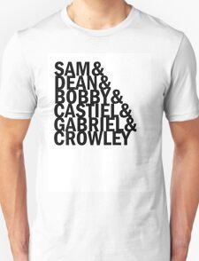 SPN Names T-Shirt