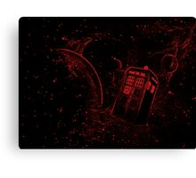 TARDIS - Lost in space Canvas Print