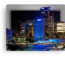 Vivid_Customs House Sydney. Canvas Print