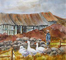 The Working Farm by bevmorgan