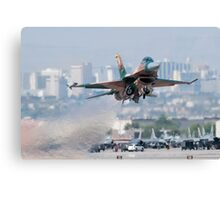Aggressor on the Way! Canvas Print