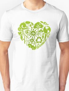 Eco heart Unisex T-Shirt