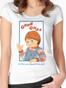 Child's Play - Good Guys - Chucky Women's Fitted Scoop T-Shirt