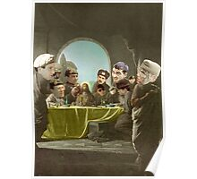 The Last Supper with Judas Escariot X 12. Poster