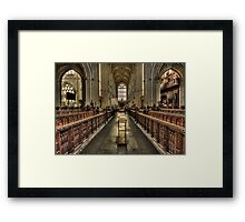Toward Eternity Framed Print