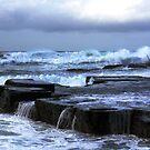 Choppy seas by Doug Cliff