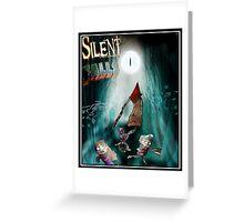 Silent Falls Greeting Card