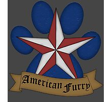American Furry Photographic Print