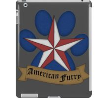 American Furry iPad Case/Skin
