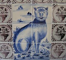 A cat from Delft by patjila