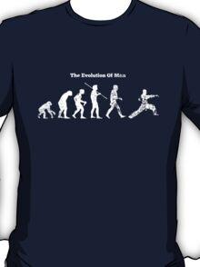 Evolution of Man - Martial Arts - Dark [G] T-Shirt