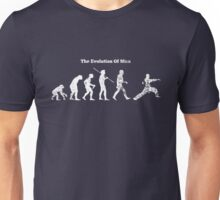 Evolution of Man - Martial Arts - Dark [G] Unisex T-Shirt