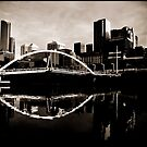Melbourne, Yarra Crossing by Andrew Wilson
