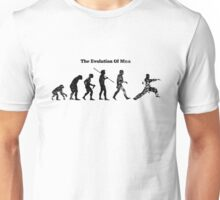 Evolution of Man - Martial Arts - Light [G] Unisex T-Shirt