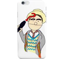 Seventh Doctor Muppet Style iPhone Case/Skin