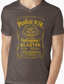 Pan Galactic Gargle Blaster - No. 42 [LEMON/BRICK-RED] Mens V-Neck T-Shirt