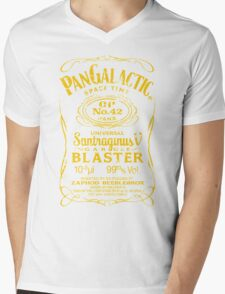 Pan Galactic Gargle Blaster - No. 42 [LEMON/BRICK-RED] Mens V-Neck T-Shirt