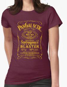 Pan Galactic Gargle Blaster - No. 42 [LEMON/BRICK-RED] Womens Fitted T-Shirt