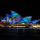 Sydney Festival of Light 2011 - Opera House Light show by Alwyn Simple