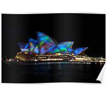 Sydney Festival of Light 2011 - Opera House Light show Poster