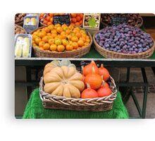 Fall's fruit Canvas Print
