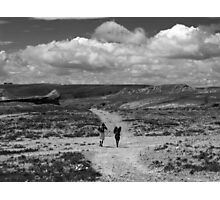 The Long Road to Nowhere Photographic Print