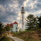 Rawley Point Lighthouse by Jigsawman