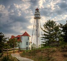 Rawley Point Lighthouse by Jigsawman