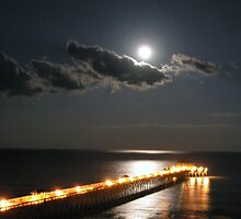 Moon Rise Over Folly by Tibby Steedly