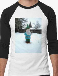 Snow Day Sam Men's Baseball ¾ T-Shirt
