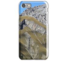 Mountains in the Swiss National Park iPhone Case/Skin