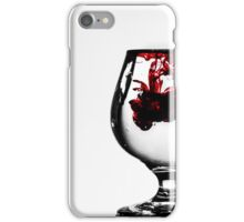 Glass of Red iPhone Case/Skin