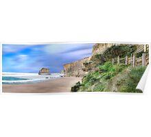 Gibson's Beach Panorama Poster