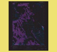 USGS Topo Map Oregon Collins Rim 279404 1968 24000 Inverted One Piece - Short Sleeve