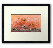 Sailing at Dusk Framed Print