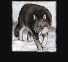 Wolf in the snow Unisex T-Shirt