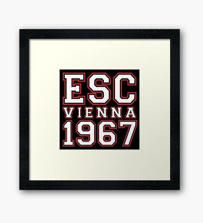 ESC Vienna 1967 [Eurovision] Framed Print