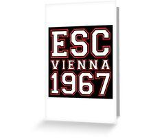 ESC Vienna 1967 [Eurovision] Greeting Card