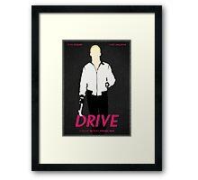 Drive film poster Framed Print