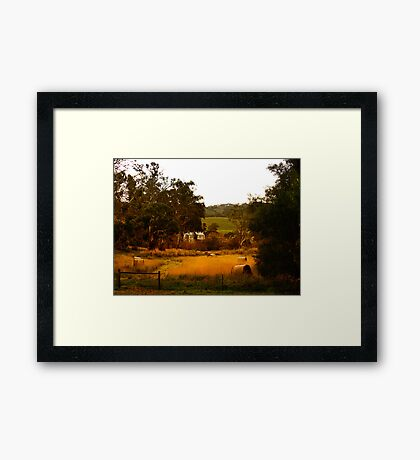 Gumeracha Town Hall  Framed Print