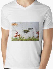 """""""Big Gator"""" Mens V-Neck T-Shirt"""