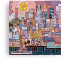 San Francisco Tile Canvas Print