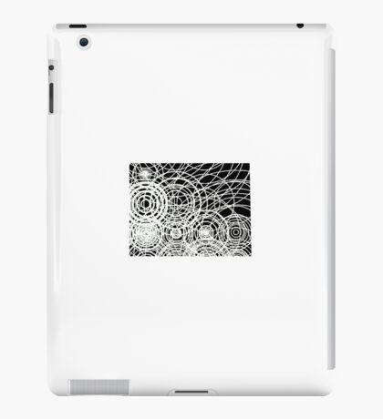 Gods touches the water iPad Case/Skin