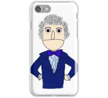 Third Doctor Muppet Style iPhone Case/Skin