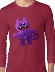 PURPLE KAT Long Sleeve T-Shirt