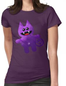 PURPLE KAT Womens Fitted T-Shirt