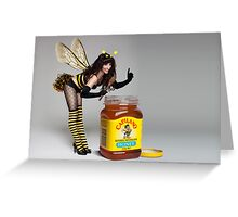 Bumble Bebe Greeting Card
